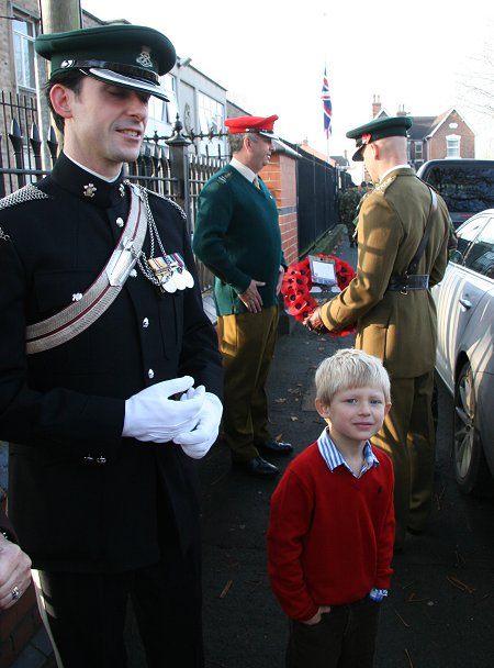 Remembrance Sunday in Swindon 13 November 2011