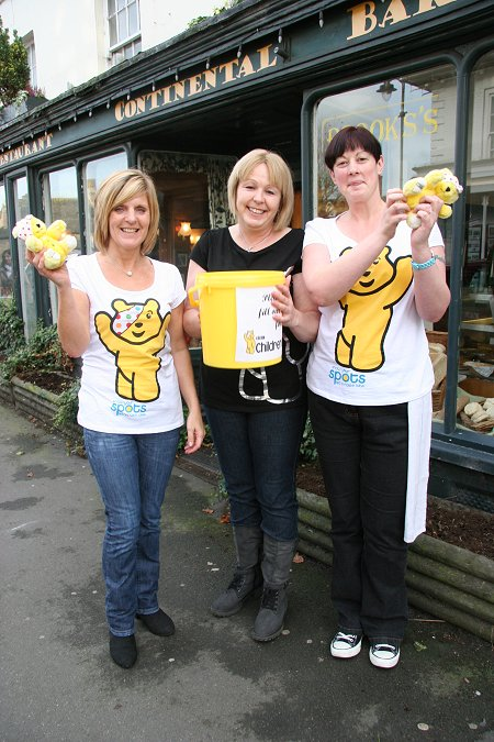 Brooks's coffee shop raising money for Children in Need