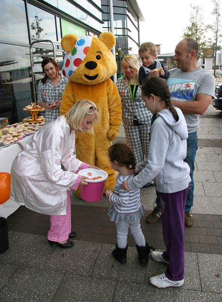 Pudsey at Asda Walmart Swindon
