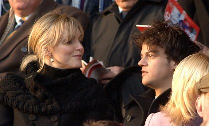 Jamie Cullum and Sophie Dahl in Swindon