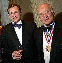 David Hempleman-Adams and Buzz Aldrin