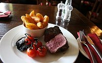 Angel Hotel, Royal Wootton Bassett steak