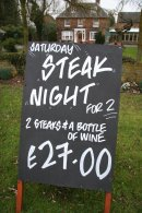Steak Night at Marsh Farm Hotel, Swindon