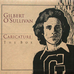 Gilbert O'Sullivan Caricature