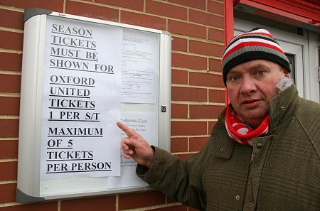 Swindon Town supporter