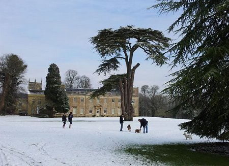 Lydiard Park in West Swindo