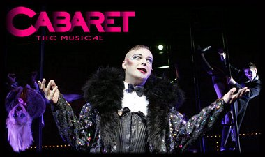 Julian Clary honourary Swindonian in Cabaret