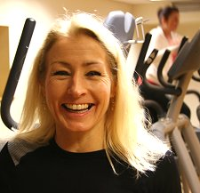 Jacqui Macuisten, personal trainer Swindon