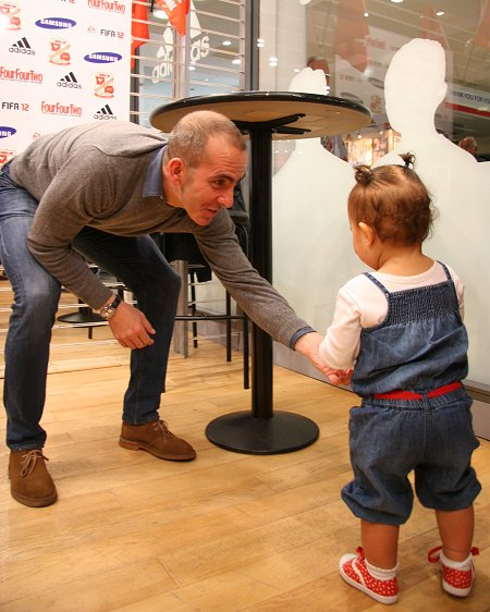 Paolo Di Canio at the Brunel Centre, Swindon