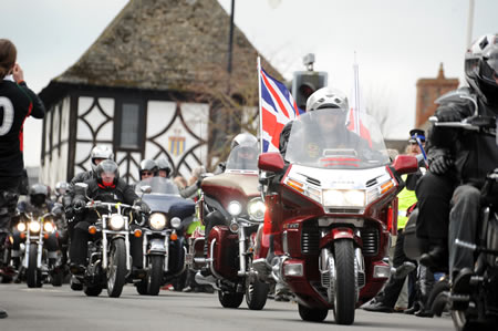 Royal Wootton Bassett Ride Of Respect