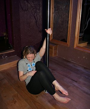 Pole dancing in Swindon at Foxies-Xtreme