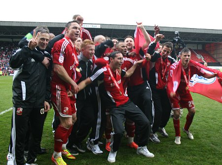 Swindon Town League 2 Champions 2012