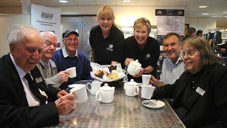 Steam museum cafe opens