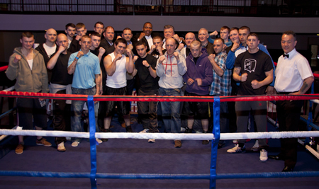 White Collar Boxing MECA