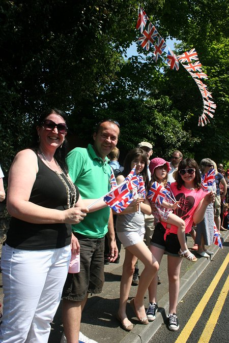 Olympic Torch Relay in Swindon