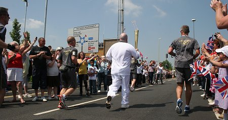 Olympic Torch Relay Swindon