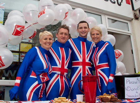 Commercial Road Diamond Jubilee Swindon