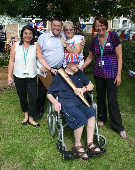 Whitbourne Avenue Care Home Olympics