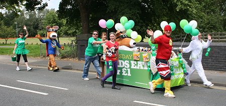 Hungry Horse Bed Push Challenge, Swindon