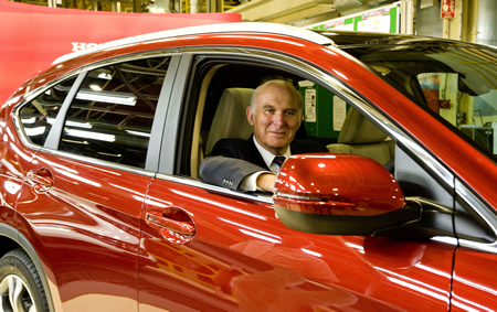 Honda CR-V Launch Vince Cable