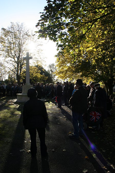 Remembrance Day 2012 at Radnor Street Swindon