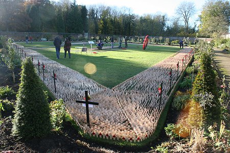 Field of Remembrance, Lydiard Park 2012
