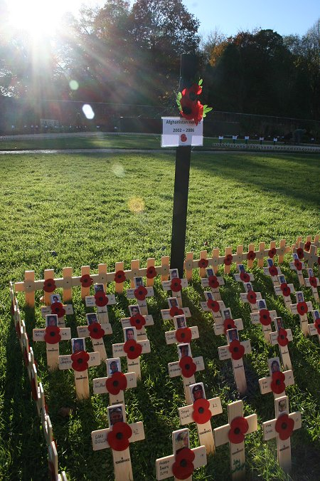 Field of Remembrance Lydiard Park Swindon