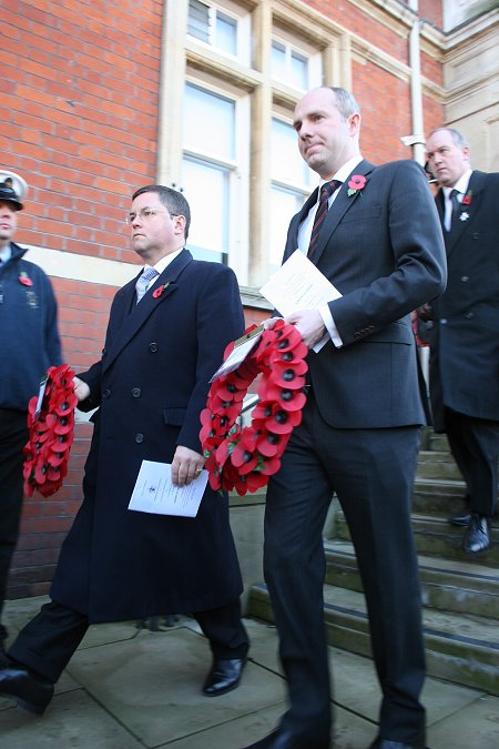 Swindon Cenotaph Remembrance Sunday 2012