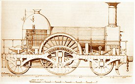 The First Locomotive built in Swindon