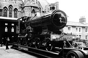 City of Truro, Swindon Railway Museum 1962