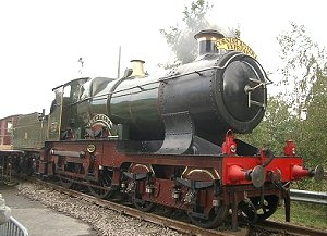City of Truro, back to her best in Swindon, September 2004