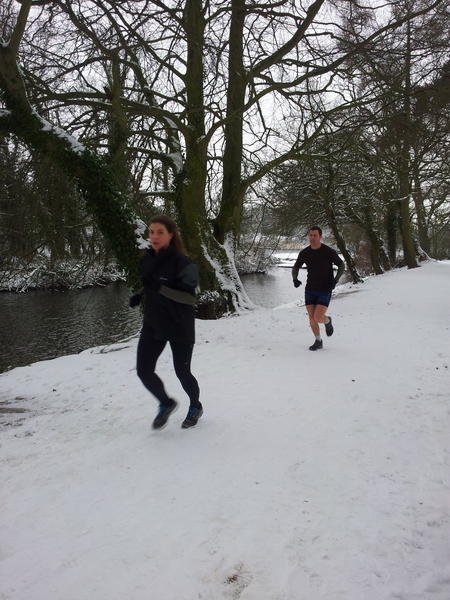 Running in Coate Water