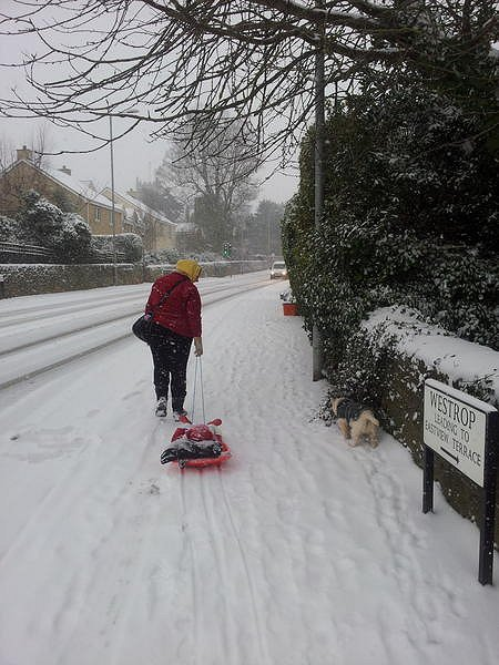 Sledging Highworth