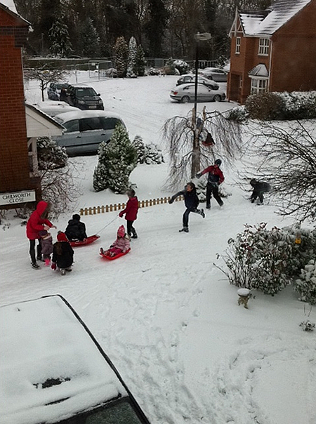 Snow Swindon January 2013 Pictures