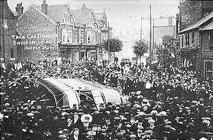 Swindon Tram Crash 1906
