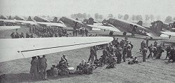 Dakotas at RAF Blakehil, Cricklade, Swindonl