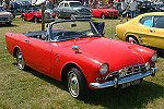 Sunbeam Alpine, designed by Swindon-born Ken Howes