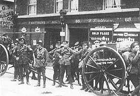Swindon Soldiers during WW1