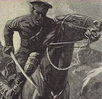 Cavalry Charge duruing WW1