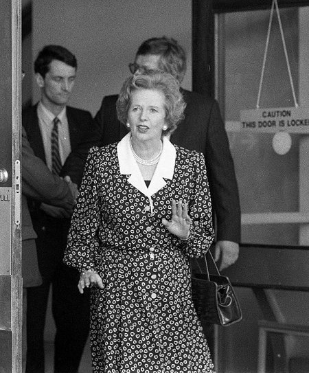Maggie Thatcher in Swindon