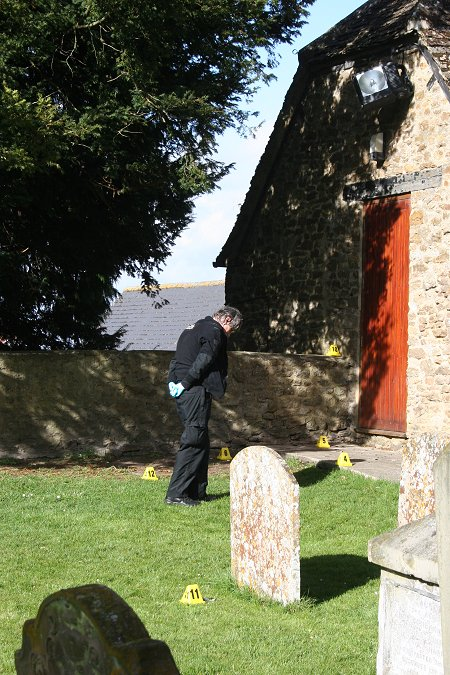 Highworth churchyard assault