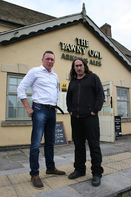 Ross Noble in Swindon at the Tawny Owl