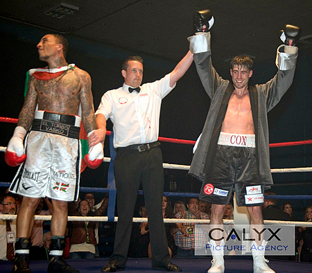 Swindon's Jamie Cox Beats Matiouze Royer at Oasis
