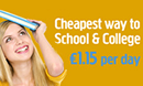 Travel To School For Less