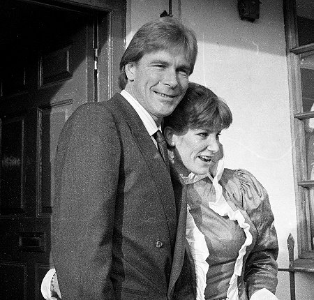 James Hunt Marries Sarah Lomax in Marlborough 17 December 1983