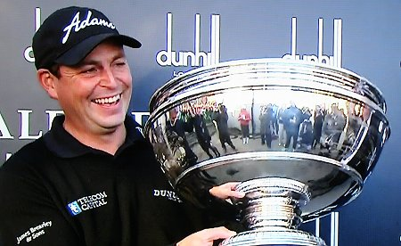 David Howell wins the Dunhill Links Trophy 2013