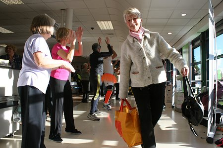 Zumba Fundraising at Highworth Co-op