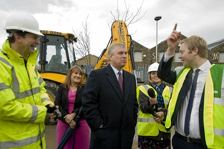 Prince Andrew at UTC Swindon
