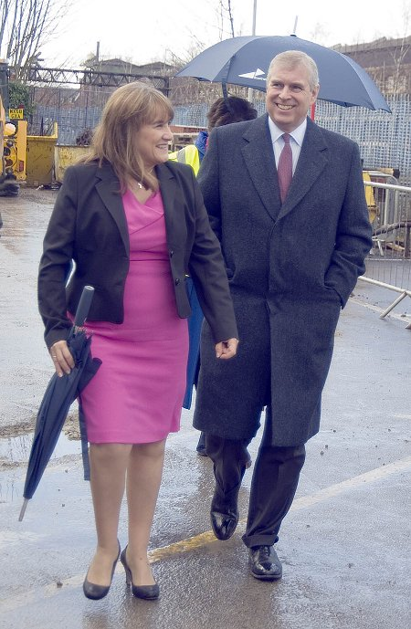 Prince Andrew at Swindon UTC