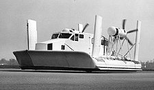 The South Marston site also produced Hovercraft parts after aircraft production ceased in the 1960s